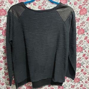 Black Zara Trafaluc Sweater